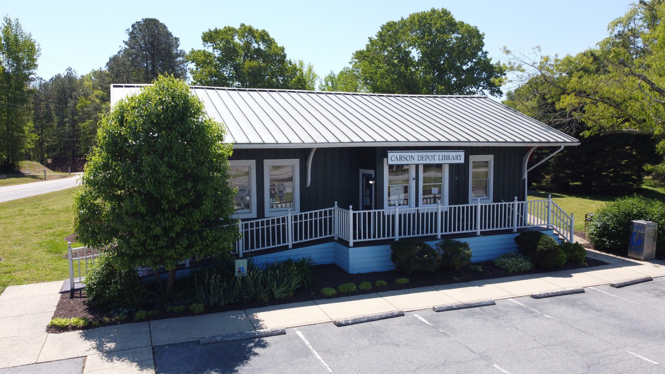 Carson Library exterior